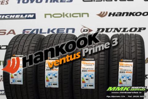 Hankook Ventus Prime 3 vasaras riepas jau noliktavā